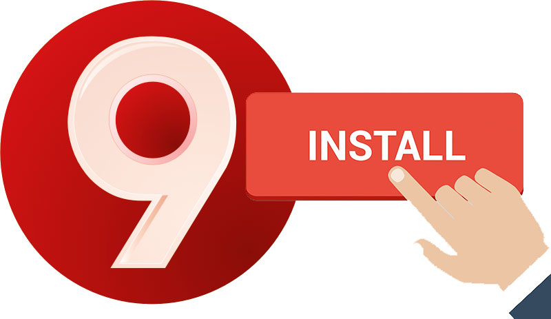 Install safe 9apps apk